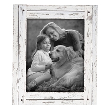 8X10 Heartland Photo Frame White