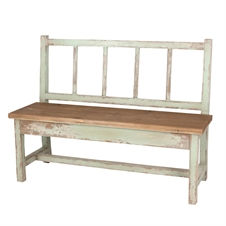 Wooden Naturalist Bench | Plum & Post