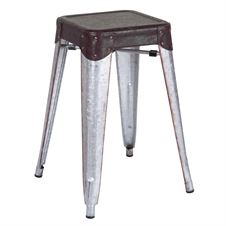 Randolph Bar Stool, Small Metal Bar Stool | Plum & Post