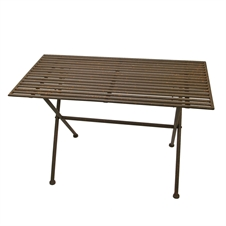 Metal Fold Up Table | Plum & Post