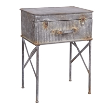 Devon Suitcase Side Table, Accent Table | Plum & Post