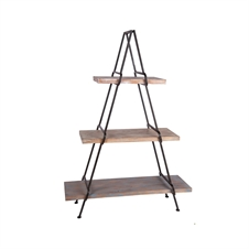 A Frame Shelving Unit, Metal & Wood Wall Shelf | Plum & Post