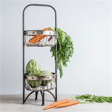 Two Tier Basket Shelf