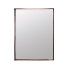 Riveted Rectangle Mirror | Plum & Post