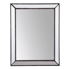 Rectangle Mirror Antique Finish | Plum & Post