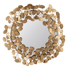 Penny Mirror, Metal Decorative Mirror | Plum & Post