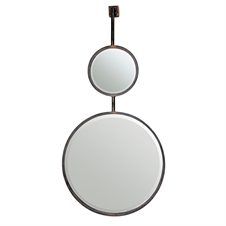 Double Round Wall Mirrors, Large Mirrors | Plum & Post
