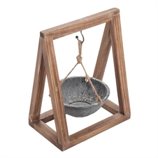 A-Frame Hanging Planter Small