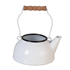 Enamel Tea Pot Planter