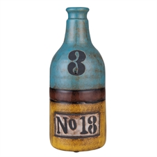 Shoreline Vase with Numbers | Plum & Post
