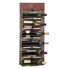 6 Bottle Distressed Wall Wine Rack | Plum & Post