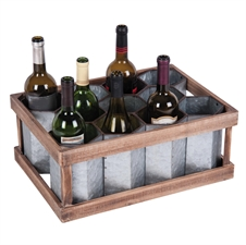 11 Bottle Honey Comb Wine Rack | Plum & Post