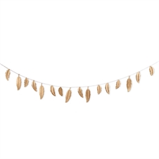Gold Feather Garland | Plum & Post