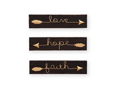 Arrow Wall Art, Set of 3 Wall Art | Plum & Post