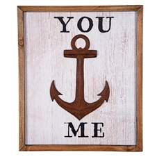 You Anchor Me Wall Art | Plum & Post