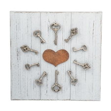 Unlock My Heart Wall Art