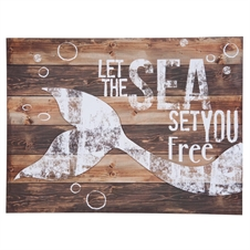 Set You Free Wall Piece, Decorative Wall Art | Plum & Post