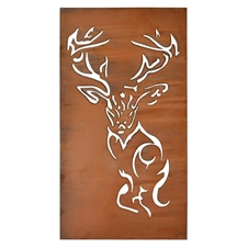 Deer Laser Cut Metal Wall Art, Wall Decor | Plum & Post