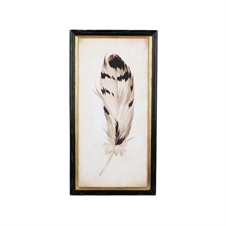 Chippewa Feather Wall Art, Metal Wall Art | Plum & Post