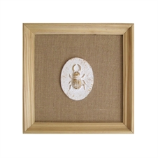 Pressed Paper Beetle Framed Art | Plum & Post