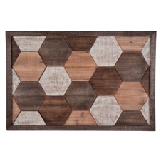 Layered Hexagon Wall Decor | Plum & Post