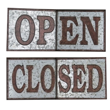 Open or Closed Sign, Home Decor | Plum & Post