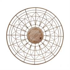 Round Spoke Wall Art, Large Wall Accessory | Plum & Post