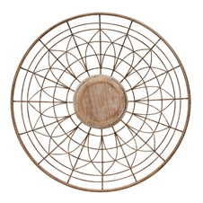Round Spoke Wall Art, Small Wall Accessory | Plum & Post