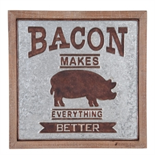 Bacon Makes Everything Better Wall Art