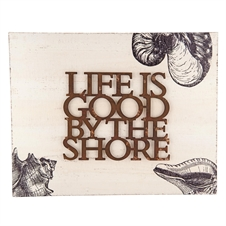 Life Is Good By The Shore Wall Art | Plum & Post