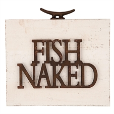 Fish Naked Wall Art | Plum & Post