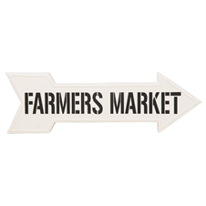 Farmers Market Direction Sign