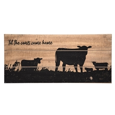Cows Come Home Wall Art