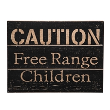 Free Range Children Wall Art