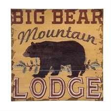Big Bear Wall Art