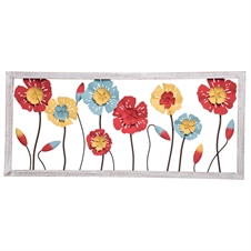 Recycled Flowers Wall Art