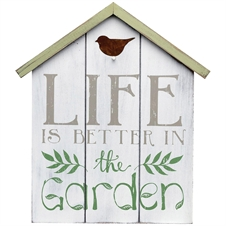 Life Is Better Garden Wall Art