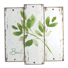 Basil Herb Plaque