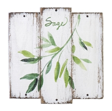 Sage Herb Plaque