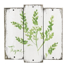 Thyme Herb Plaque