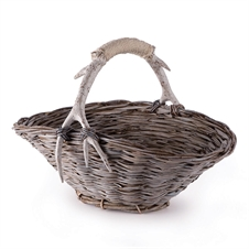 Caribou Flower Basket | Plum & Post