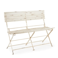 Bistro Folding Garden Bench | Plum & Post