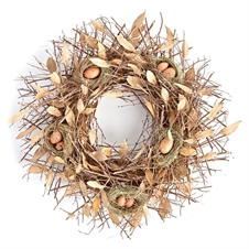 "Birds Nest 26.5"" Wreath 