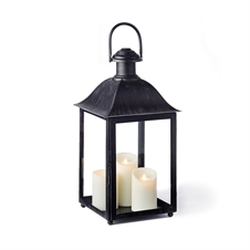 "Coach House 23"" Outdoor Lantern, Black 
