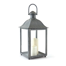 "Coach House 23"" Outdoor Lantern, Gray 